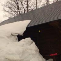 屋根雪注意、、