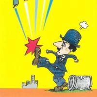 21世紀版『独裁者』でチャーリーの怒りは!!~橋本勝の政治漫画再生計画第281回