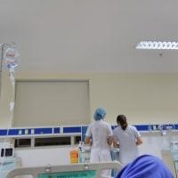 [気温28℃][晴れ][入院日記] 入院しなければ知らなかった「夜勤の密会」 #ベトナム
