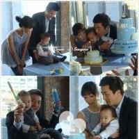 「クォン・サンウさんの子供初誕生日をここでしたという。」🎂~ヨイドブランチカフェ'世界のすべての朝'