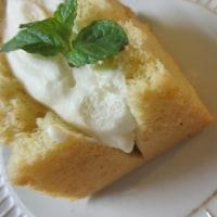 お蕎麦のスイーツ!そば粉のシフォンケーキ。