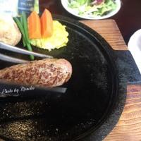 レアで食べられるハンバーグ@ジョージ(八王子)