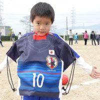 親子サッカー・・・