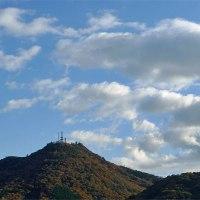 今日は山がはっきり見える
