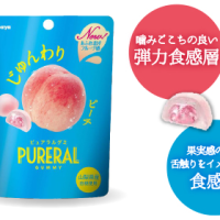 【お菓子】ピュアラルグミ ピーチ