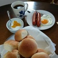 朝焼きパンとジョンソンウィル