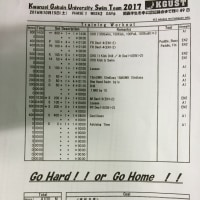 10月15日(土) 1部練
