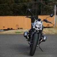 BMW Motorrad RnineT Scrambler 御試乗写真!!
