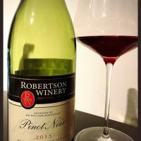 ロバートソンのピノ ★ ベストバリューワイン