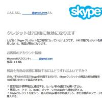 skype クレジット