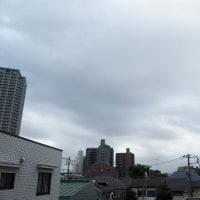 今朝の東京のお天気:曇り