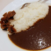 <gourmet>松屋 オリジナルカレー+ポテトサラダ