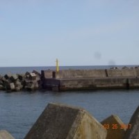 港で穴釣り