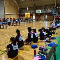 10日(土)、伊西地区卓球練成大会がありました。優勝しました!おめでとうございます!!