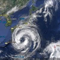 今年の「台風」は何か変デス!