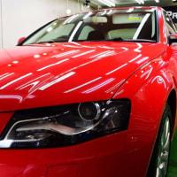 Audi A4  ボンネット ストライプ