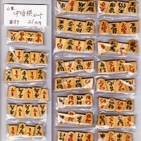 小型の中将棋駒