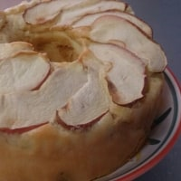 グルテンフリーのリンゴケーキ