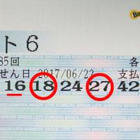 ロト6第1185回の予測と抽選結果