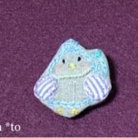 ハッピーブローチ   青い鳥さん
