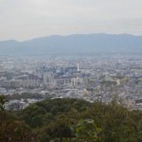 まち歩き東0445  将軍塚からの京都市内 景色