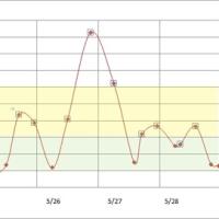 5月29日から6月4日の血糖値