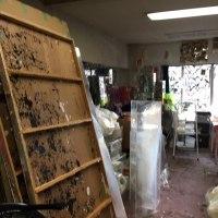 今、スタジオは、5年振りの大整理中です。