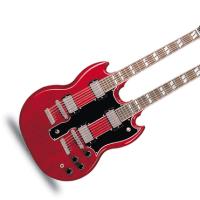 ギブソンWネックギター