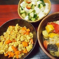 豆腐そぼろカレー味