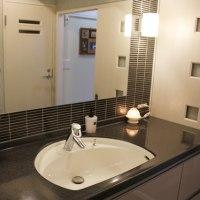 素敵な洗面室と収納の工夫