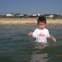 太陽、おやじと海に行くの巻