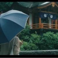 弊社の製作した鳥居がソニーのCMにThe torii she's evading by a commercial of Sony. The torii we manufactured.