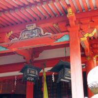 京都府綴喜郡井手町 玉津岡神社と高神社