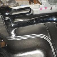 キッチンの水漏れ。またです。