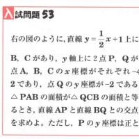 中学数学・1次関数・2次関数 53 千葉県・東京都・高校入試問題