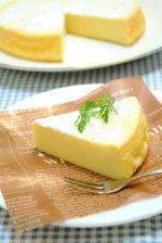 ホワイトチョコと 卵だけで作る ホワイト チョコレートケーキ ☆