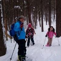 2017年1月の森のようちえんは雪遊び