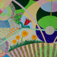 県展埼玉・絵画の途中経過。何で描きたいのか?それは自由で、自己の中から生まれてくる。