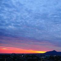 今朝の大山 10月22日