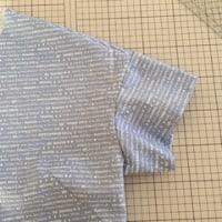 袖の型紙やっと作ったw