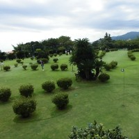 今日はパークゴルフの当番でした