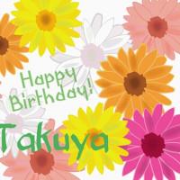 Happy birthday Takuya