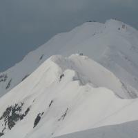17・3・19 大山 剣ヶ峰滑走レポート。
