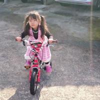 20170101 Raynaちゃんの自転車