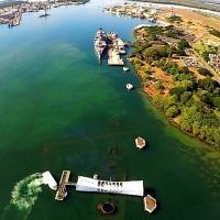 パール・ハーバーで撃沈した米戦艦アリゾナは、「今でも沈んだまま」なのか!。