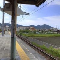 二上山/奈良県葛城市尺土から撮影