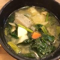 大阪城グルグル→具だくさん豚汁