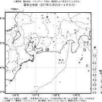 今週のまとめ - 『東海地域の週間地震活動概況(No.14)』など