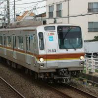 2016年10月22日 東急東横線 自由が丘 東京メトロ 7133F