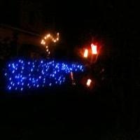 近所のクリスマスイルミネーション